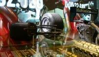Conception éditoriale de l'espace Renault F1 Salon de Paris 2004. Conte