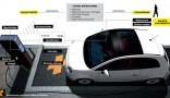 Design et suivi de fabrication de prototype d'une borne de recharge pour véhicules électriques. Elle associe une gestion dynamique du stationnement, un système de recharge pour véhicule électrique pré-équipé pour...