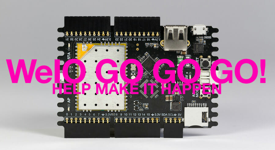 WeIO sur Indiegogo