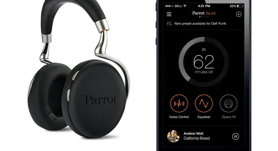L'application Parrot Zik 2.0 a été conçue pour accompagner la nouvelle génération du casque bluetooth Parrot. L'appli permet de contrôler facilement les effets du casque. Pour Nodesign, ce projet a...