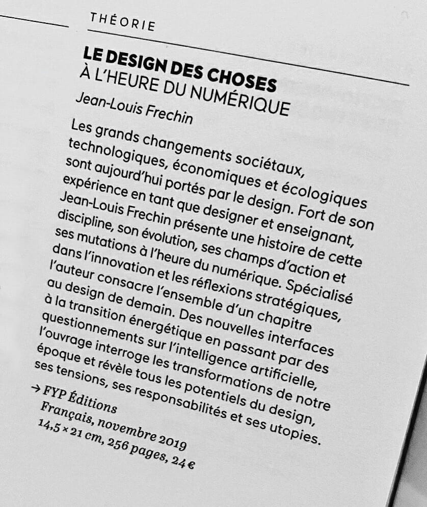 Le Design des choses