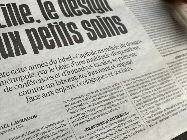 Designer(s) Du Design dans Libération